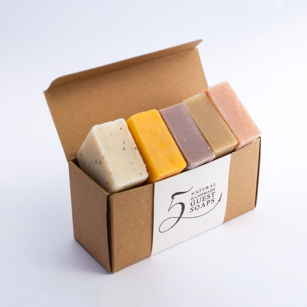 five soap gift set