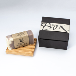 Soap Dish and 1 Soap Bar Box